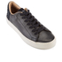 TOMS Men's Lenox Leather Cupsole Trainers - Black: Image 2