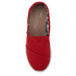 TOMS Kids' Seasonal Classics Slip-On Pumps - Red: Image 3