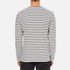 Wood Wood Men's Harrison Long Sleeve T-Shirt - Pristine/Dress Blues: Image 3