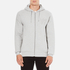 Wood Wood Men's Leonard Zipped Hoody - Grey Melange: Image 1