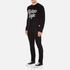 Wood Wood Men's Kevin Chest Logo Sweatshirt - Black: Image 4