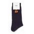 Folk Men's Rib Socks - Navy: Image 3