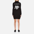 Love Moschino Women's Polo Neck Heart Jumper Dress - Black: Image 1