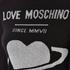 Love Moschino Women's Polo Neck Heart Jumper Dress - Black: Image 4