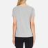 Love Moschino Women's Love Heart T-Shirt - Medium Grey: Image 3