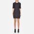 Love Moschino Women's Denim Fitted Dress - Denim: Image 1