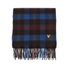 Lyle & Scott Men's Woven Tartan Scarf - Blue Purple: Image 2