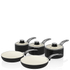 Swan Retro Pan Set - Black (5 Piece): Image 1