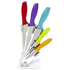 Ciclour MCK24021 Cook in Colour Knife Block - Multi (5 Piece): Image 1