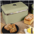 Swan Retro Bread Bin - Green: Image 2