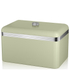 Swan Retro Bread Bin - Green: Image 1