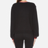 McQ Alexander McQueen Women's Cropped Sweatshirt - Darkest Black: Image 3