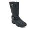 UGG Women's Tisdale Buckle Biker Boots - Black: Image 2