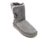 UGG Women's Bailey Button II Sheepskin Boots - Grey: Image 2
