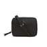 DKNY Women's Gansevoort Pinstripe Quilted Square Crossbody Bag - Black: Image 1