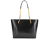 Ted Baker Women's Jalie Geometric Bow Shopper Tote - Black: Image 6