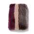 Ted Baker Women's Wyla Triple Stripe Detail Fur Scarf - Mid Purple: Image 2