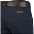Smith & Jones Men's Ashlar Belted Slim Fit Chinos - Navy Twill: Image 3