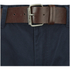 Smith & Jones Men's Ashlar Belted Slim Fit Chinos - Navy Twill: Image 4