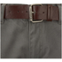Smith & Jones Men's Ashlar Belted Slim Fit Chinos - Charcoal Twill: Image 4