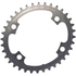 AbsoluteBLACK 110BCD 4 Bolt Spider Mount Oval Chain Ring (Training): Image 2