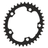 AbsoluteBLACK 110BCD 5 Bolt Spider Mount Oval Chain Ring (Premium): Image 1