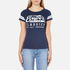 Superdry Women's Classics T-Shirt - Princeton Blue Marl: Image 1