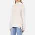 Superdry Women's Kiki Cable Knit Jumper - Cream: Image 2