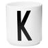 Design Letters Porcelain Cup - K: Image 1
