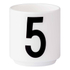 Design Letters Espresso Cup - 5: Image 1