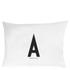 Design Letters Pillowcase - 70x50 cm - A: Image 1