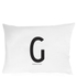 Design Letters Pillowcase - 70x50 cm - G: Image 1