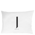 Design Letters Pillowcase - 70x50 cm - J: Image 1