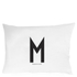 Design Letters Pillowcase - 70x50 cm - M: Image 1