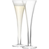 LSA Hollow Stem Champagne Flute - 200ml (Set of 6): Image 2