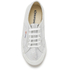 Superga Kids' 2750 Lamej Trainers - Silver: Image 3