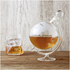 Glass Globe Whisky Decanter