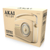 Akai A60010CDAB DAB Retro Radio - Cream: Image 3