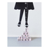 Design Letters Kids' Collection Measurewoman Wallsticker - Black: Image 3