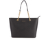 MICHAEL MICHAEL KORS Women's Jet Set Travel Chain TZ Tote Bag - Black: Image 1