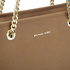 MICHAEL MICHAEL KORS Women's Jet Set Travel Chain TZ Tote Bag - Luggage: Image 4