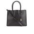 MICHAEL MICHAEL KORS Women's Mercer Large Messenger Tote Bag - Black: Image 1
