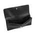 MICHAEL MICHAEL KORS Women's Bedford Large Flat Wallet - Black: Image 4