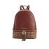 MICHAEL MICHAEL KORS Women's Rhea Zip Mid Stud Backpack - Brick: Image 1