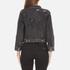 Marc Jacobs Women's Shrunken Denim Jacket - Black: Image 3