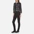 Marc Jacobs Women's Shrunken Denim Jacket - Black: Image 4