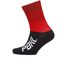 PBK Race High Cuff Socks - Red: Image 1