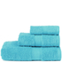 Restmor Knightsbridge 100% Egyptian Cotton 3 Piece Towel Bale Set (500gsm) - Aqua: Image 1
