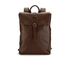 Ted Baker Men's Earth Leather Backpack - Dark Tan: Image 1
