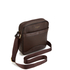 Ted Baker Men's Isaac Embossed Flight Bag - Chocolate: Image 3